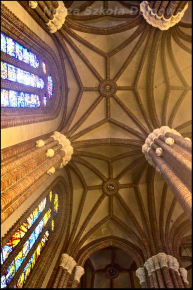 Katedra - sklepienie