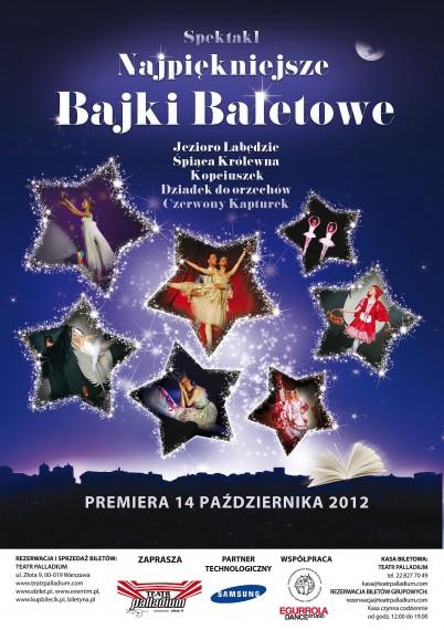 najpiękniejsze bajki baletowe - teatr Palladium