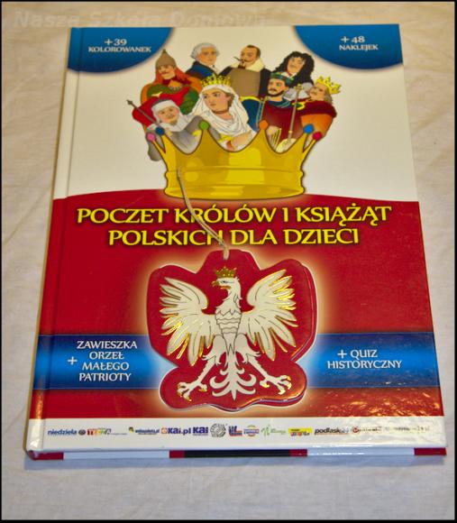 Poczet królów o książąt polskich - kolorowanka