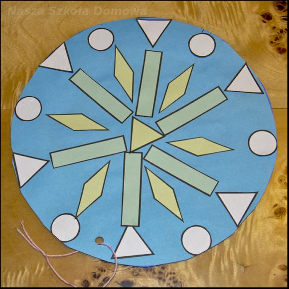 geometryczna śnieżynka 1