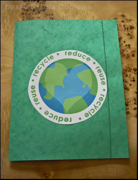 Lapbook segregowanie śmieci