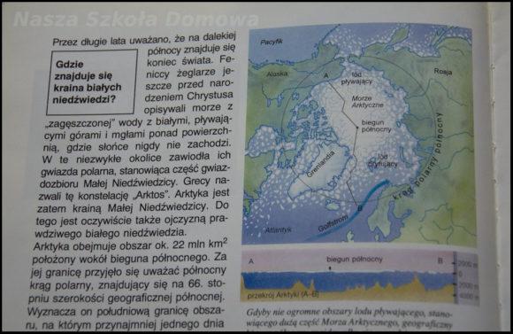 Krąg polarny - mapa
