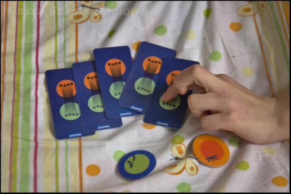 Słońce i księżyc - pięć kart