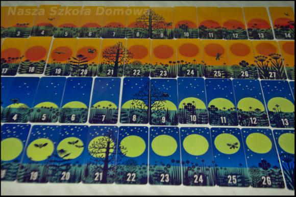 Słońce i księżyc - karty