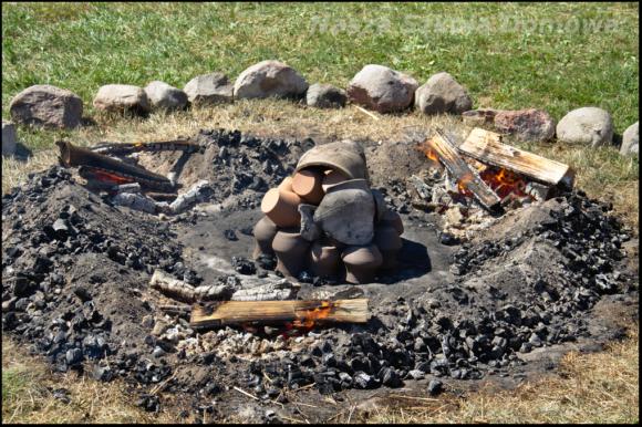 Wypalanie garnków
