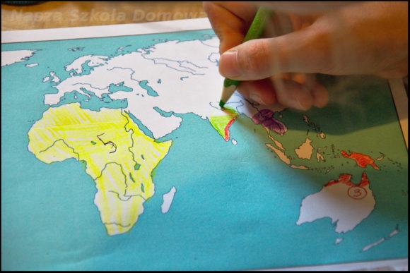 krokodyle - mapa