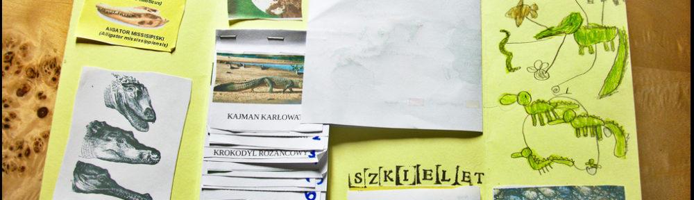 krokodyle - lapbook