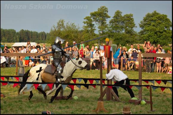 turniej rycerski konny