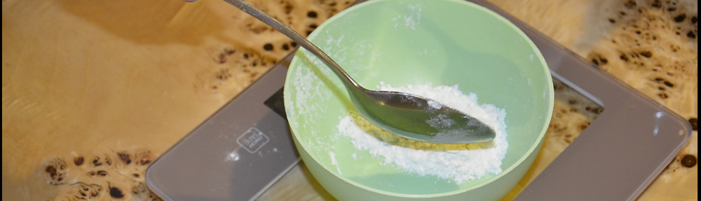 ważenie mąki