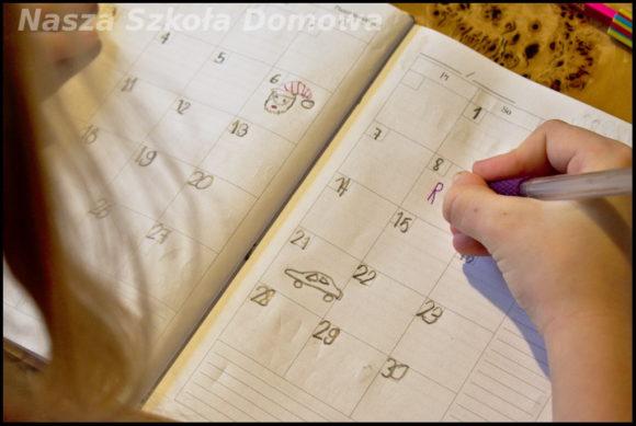kalendarz - pamiętnik