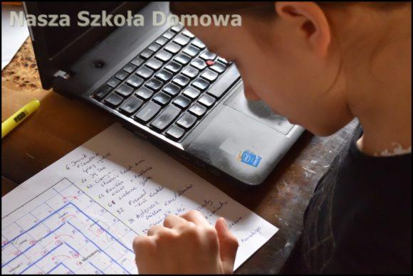 Praca z laptopem