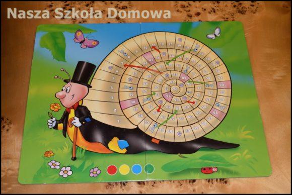 gra Ślimak - plansza