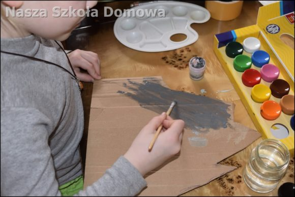 malowanie skały