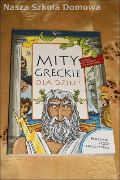 Mity greckie dla dzieci - okładka