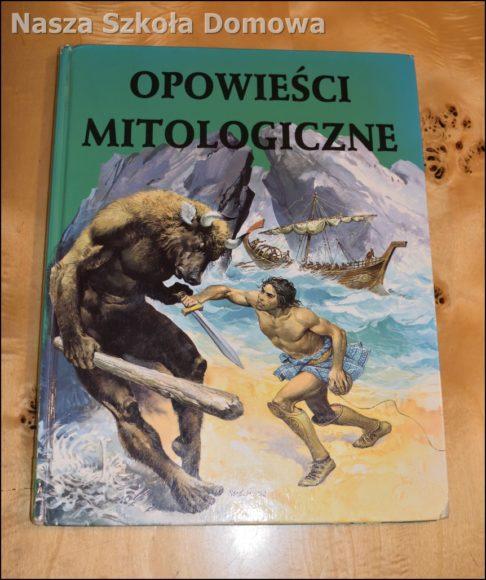 Opowieści mitologiczne - okładka