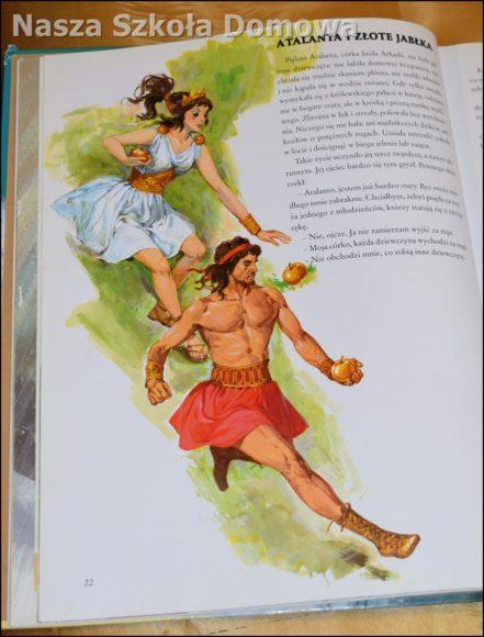 Opowieści mitologiczne - ilustracja