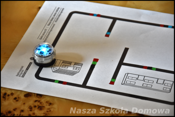 ozobot odtwarza program