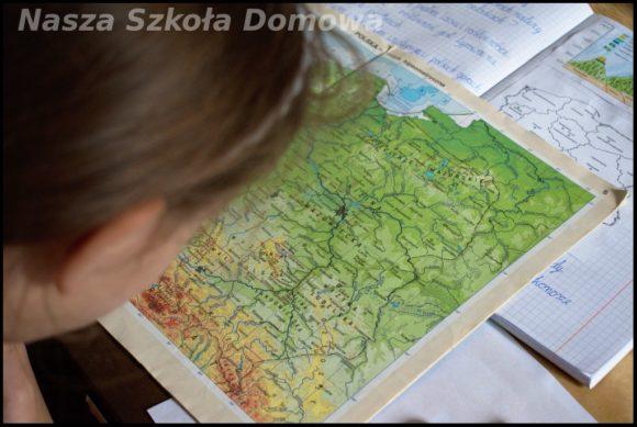 Góry polskie - mapa