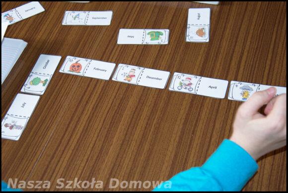 domino - nazwy miesięcy