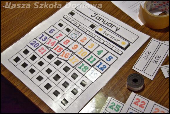 wieczny kalendarz