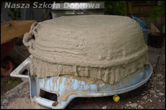 Wykonanie betonowej donicy