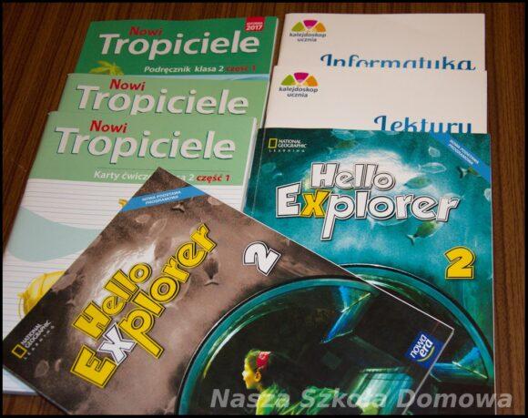 klasa II podręczniki
