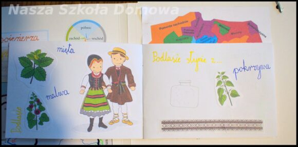 Regiony polskie - książeczka