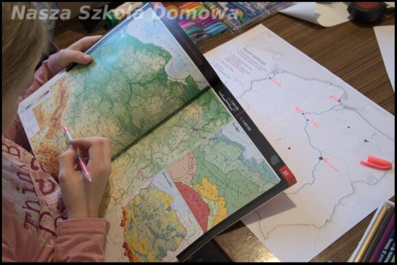 mapa Polski dla dzieci