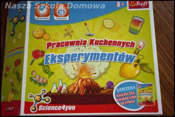 Pracownia Kuchennych Eksperymentów - proste ćwiczenia z fizyki i chemii dla dzieci.